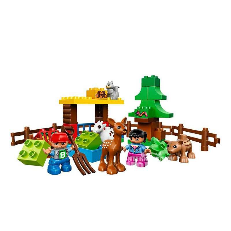 lego 丹麦乐高森林主题野生动物 海外本土原版