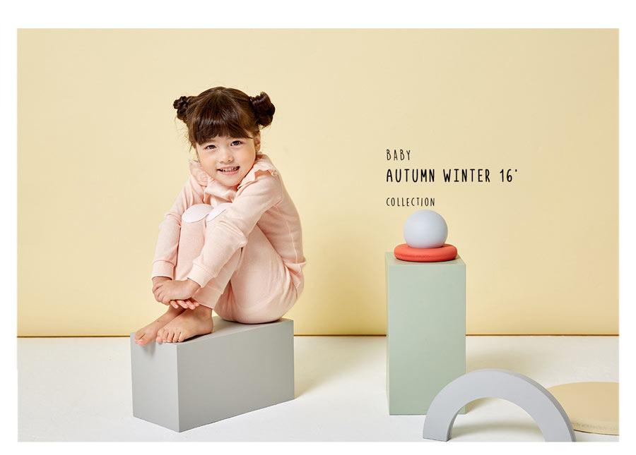 unifriend 韩国unifriend儿童纯棉家居服套装春秋款 海外本土原版